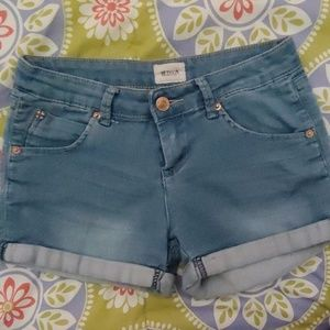 Girls denim shorts HUDSON